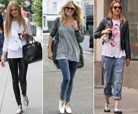 Looks com Sapatos Oxford Feminino - como usar com calça jeans