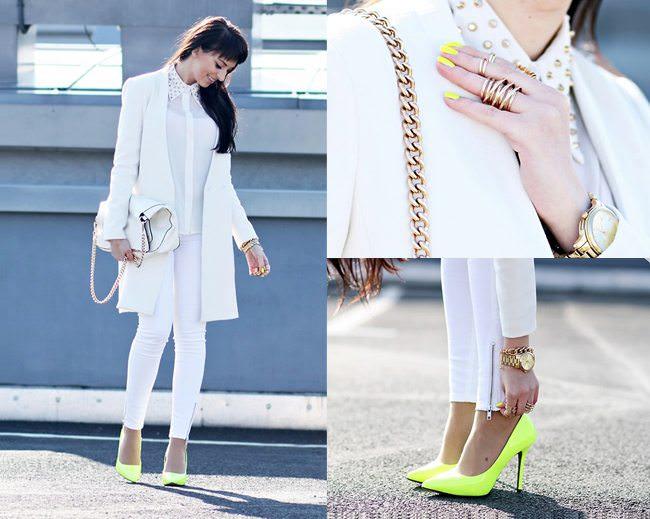 Look total branco, tendência All White