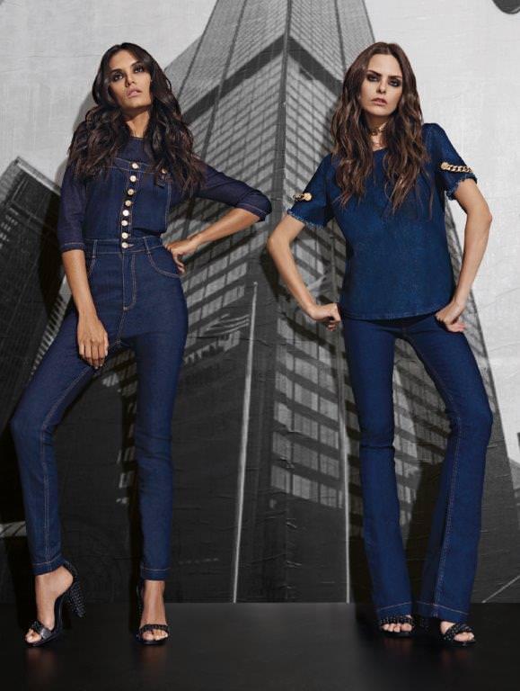 Lança perfume nova coleção Jeans
