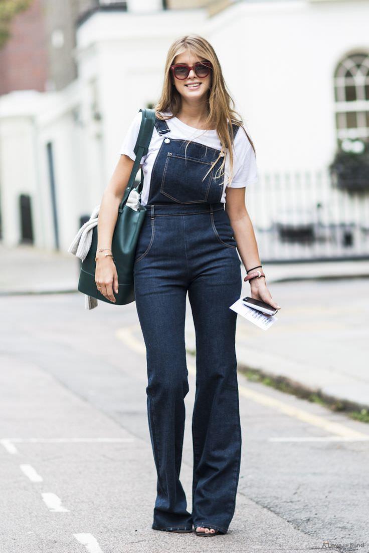 macacão jeans modelo para corpo curvilíneo