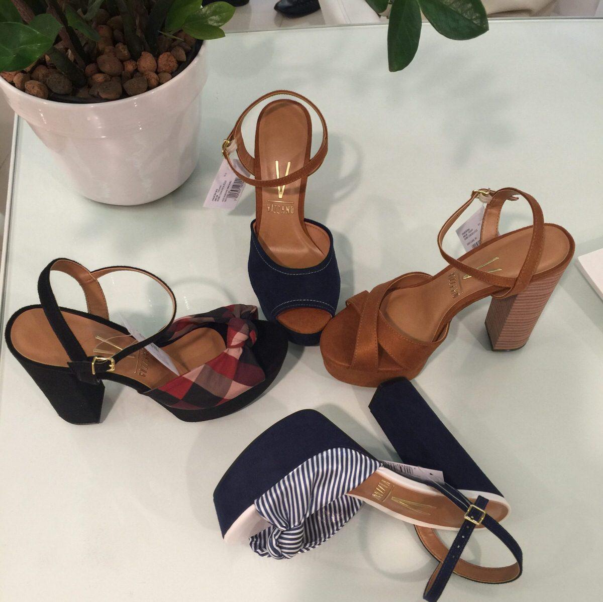 Beira Rio Calçados - modelos marca Vizzano