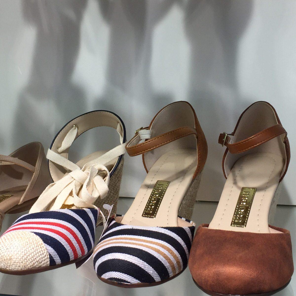 Calçados Beira Rio modelos marca Moleca