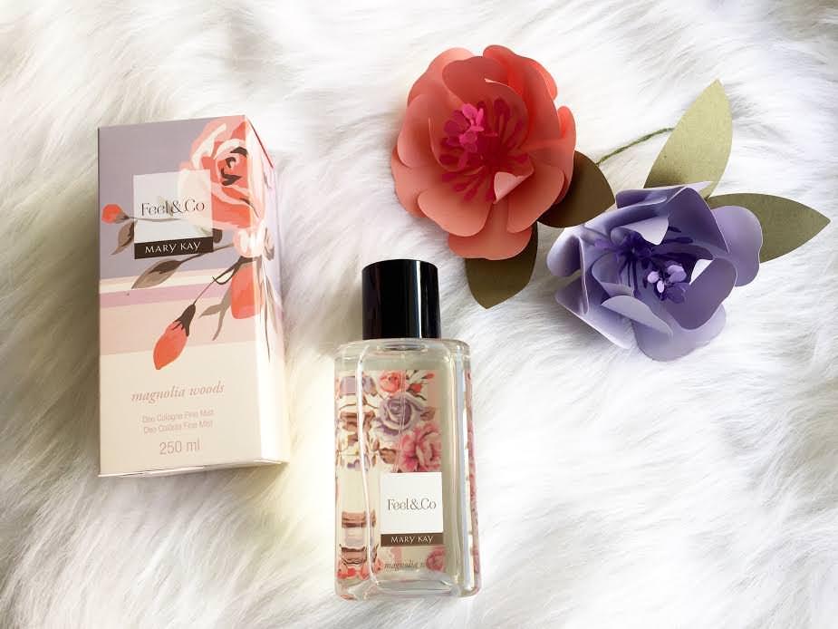 Feel&Co™ Fine Mist Magnolia Woods carrega em si o melhor da primavera: as flores e os seus aromas encantadores . mary kary. alexandra evangelista