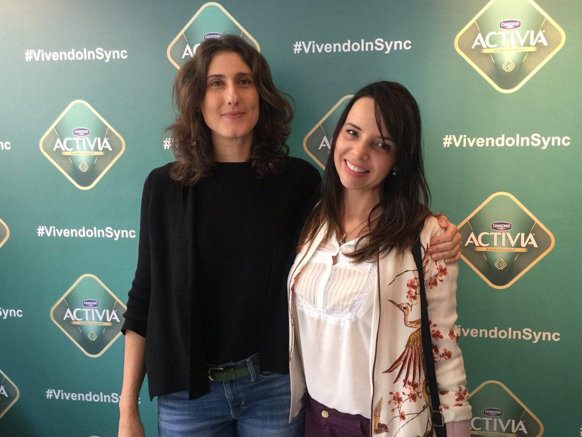 Activia evento, com Paola Corasello