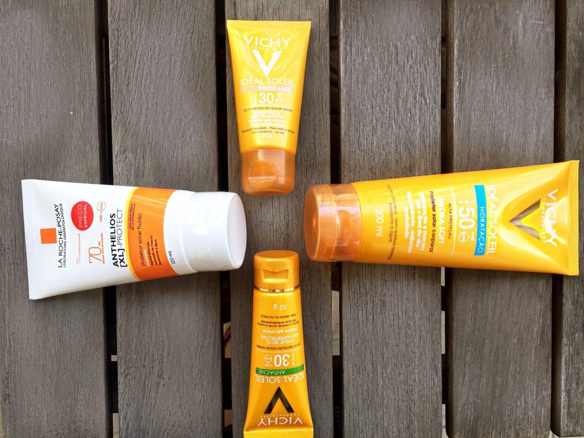 Protetor Solar para o Verão, proteção rosto e corpo