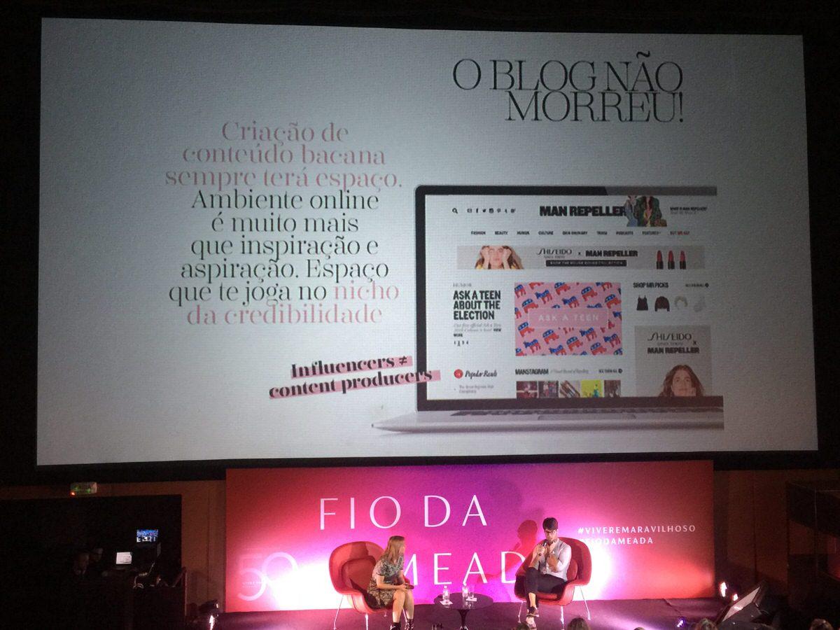 O Blog não morreu, Fio da Meada comemorando 50 anos de Iguatemi