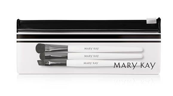Dicas de presente de amigo secreto até R$ 50,00 MARY KAY – Estojo com Mini Pincéis para os Olhos