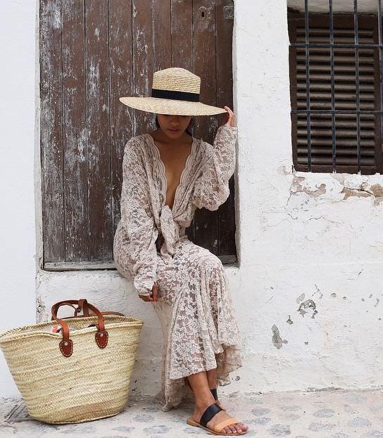Como usar bolsa de palha no dia a dia, por Alexandra Evangelista