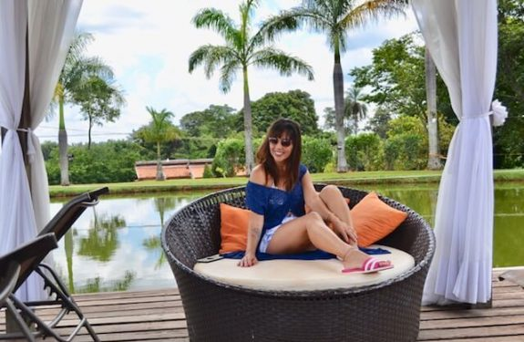Santa Clara Eco Resort Alexandra Evangelista Fashion Influencer