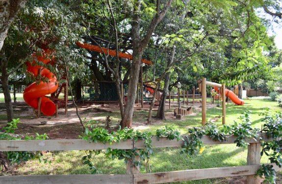Parque para as crianças no Santa Clara Eco Resort