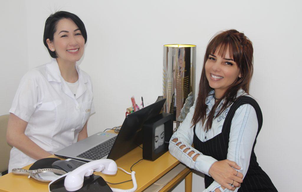 Com Iara Sato idealizadora da Go Lash Extensão de cilios